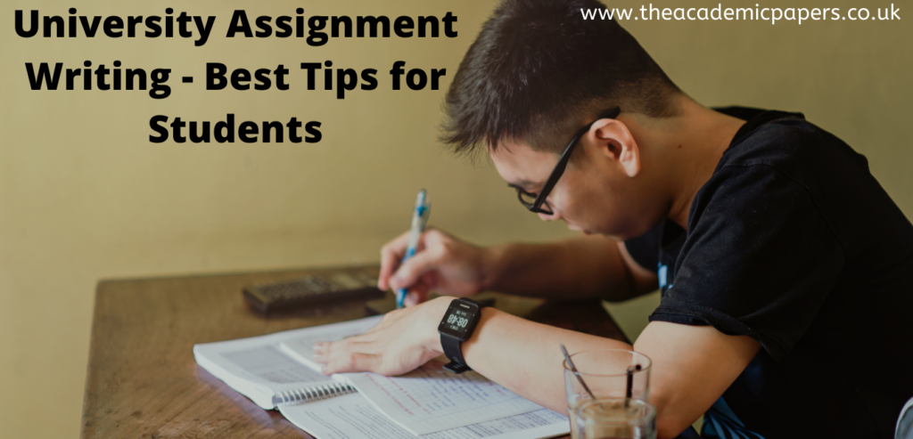 University Assignment Writing – Best Tips for Students