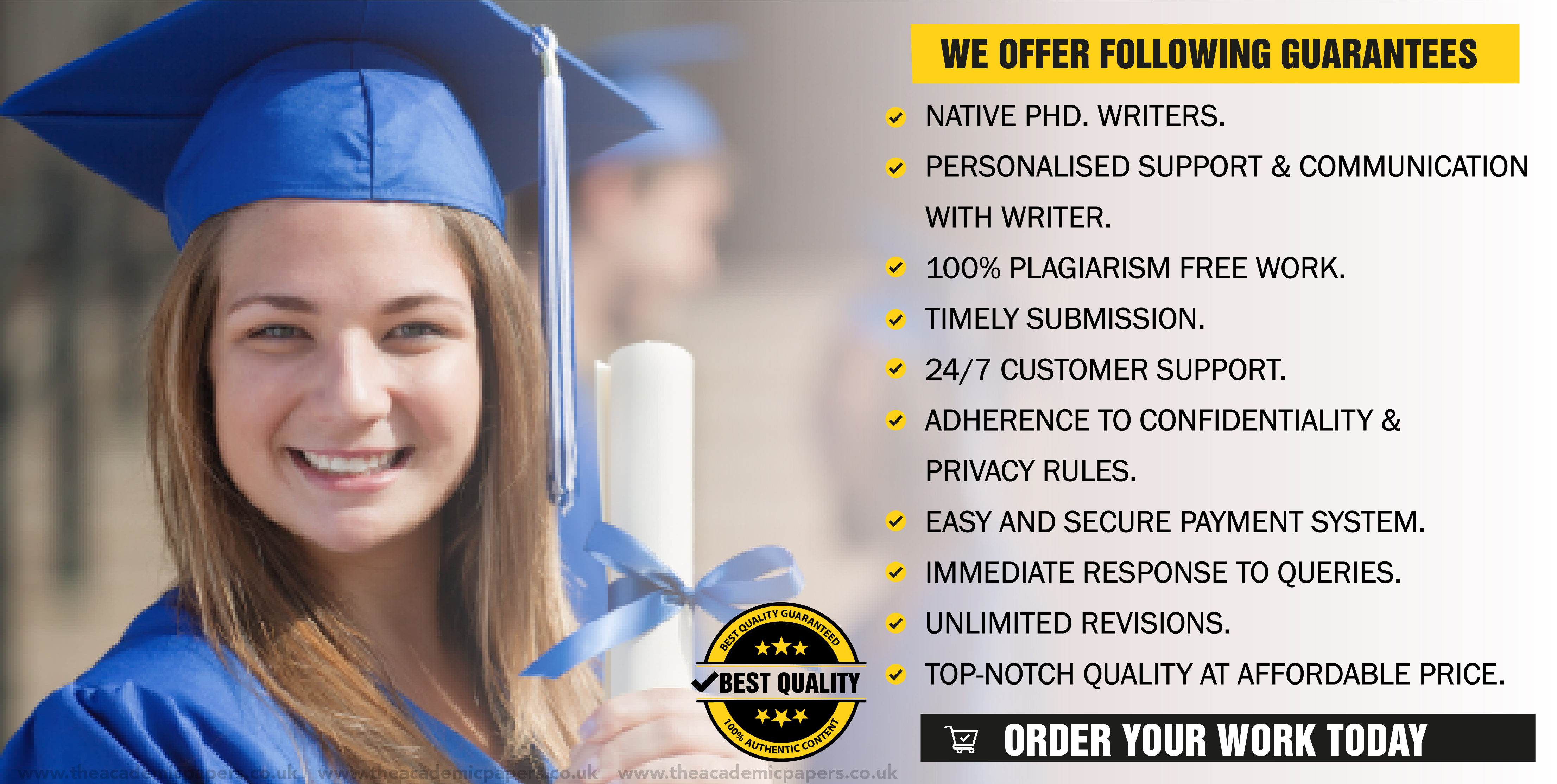 Dissertation Proposal Writing Service - guarantees